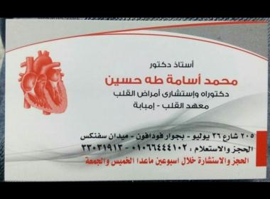 محتاجه دكتور قلب شاطر عن تجربه في القاهرة ؟