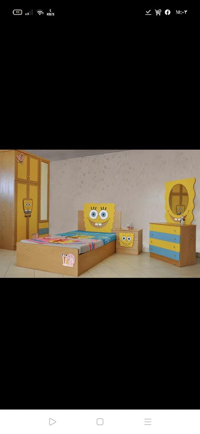 حد جرب خشب مفكو حلوان في غرف الاطفال