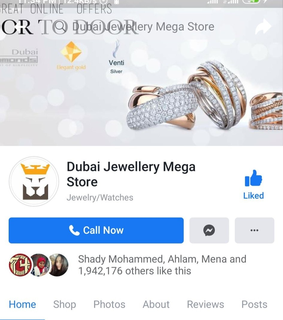 رأيكم في محل dubai jewelry mega store