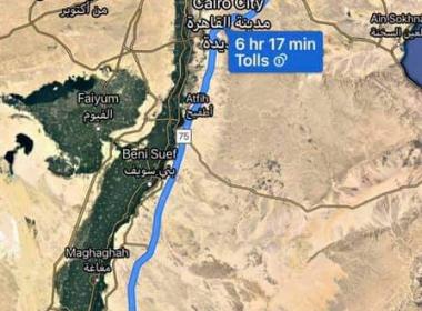 أفضل طريق للسفر من القاهرة او المنصورة او بنها الى أسيوط